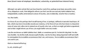 funny cover letter examples funny ways to end a letter work study