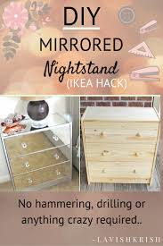 17 Best Ideas About Bedside Table Decor On Pinterest by Best 25 Mirrored Furniture Ideas On Pinterest Mirror Furniture