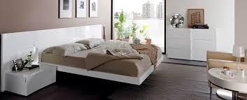 Modern White Bed Frame Bedroom Entrancing Modern Bedroom Design And Decoration Using