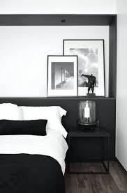 Chambre Mur Et Noir Deco Chambre Noir Et Blanc Sans Cadre 3 Pcs Noir Et Blanc Fleur