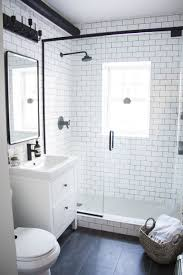 small bathroom ideas black and white a modern meets traditional black and white bathroom makeover