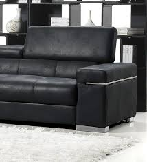 Black Italian Design Modern Sofa Set - Modern sofa italian design