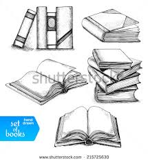 how to draw a closed book google search its in a book