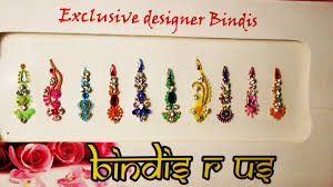 bindi forehead ornaments stick on