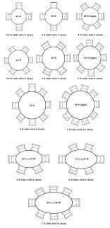 average round table size average dining room table size createfullcircle ideas collection