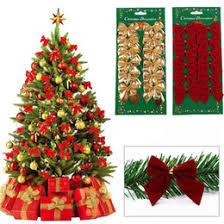 tree bow decorations tree bow