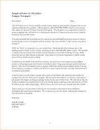 collection of solutions persuasive letter to the editor sample