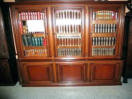 Solid Wood Bookcases With Glass Doors Bookcases With Glass Door Solid Wood Bookcases Cherry Bookcase