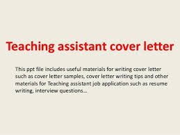 teacher assistant cover letter examples teaching assistant cover