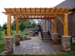 download outdoor kitchen with pergola garden design