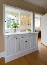 kitchen half wall ideas http houzz com photos 3804724 montgomery dr hutch