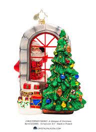 decor sblue spouty christmas ornament by christopher radko