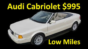 audi for sale by owner 1 owner audi cabriolet a6 80 convertible 995 for sale