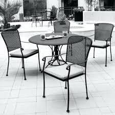 patio ideas nantucket round metal outdoor bistro table metal