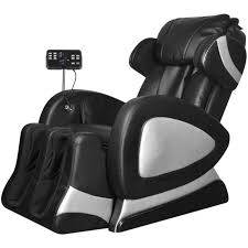 canape massant electrique vidaxl fauteuil de électrique noir cuir artificiel achat