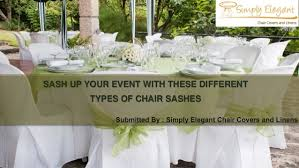 chagne chair sashes sash up your event with different types of chair sashes