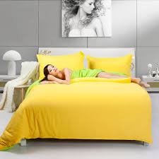 Yellow Bedding Set Fashion Bedding Two Tone Yellow And Fruit Green Duvet Cover