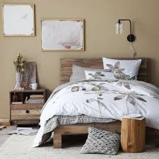 bedroom sheet sets distressed wood furniture cheap emmerson reclaimed wood bed natural west elm