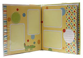 Scrapbook Inserts Amazon Com Tapestry Baby Zoo Animals Themed Baby Scrapbook And