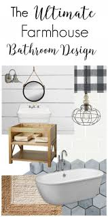 Farmhouse Bathroom Ideas by 922 Best Bathrooms Images On Pinterest Bathroom Makeovers