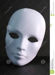 plain mask white mask on background stock photo image of plain jester