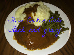 easy meals slow cooker cube steak and gravy youtube