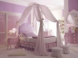 exquisite twin crown canopy bed with printed curtains and molding