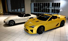 lexus uk linkedin open top toyota 2000gt meets lexus lfa spyder toyota