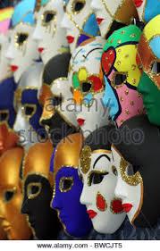 carnival masks for sale venetian carnival masks on sale on a shop on the rialto bridge