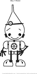 boy 1 robot coloring http www kidscanhavefun robot