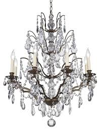 Crystal And Bronze Chandelier Designing With Crystal Chandeliers Euro Style Home Blog Modern