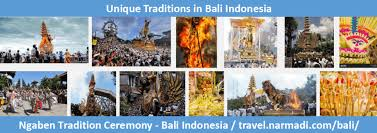 4 unique traditions on different regions in bali indonesia