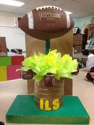 football centerpieces football centerpiece inspiring ideas football