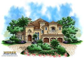 Spanish Style Homes Plans by Florida House Plans Architectural Designs Stock U0026 Custom Home Plans