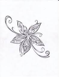 Flowers Designs For Drawing My Dad Use To Draw Flowers Like This All The Time Going To Have