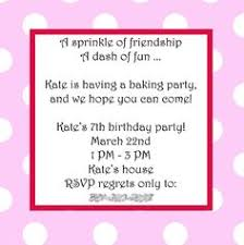 baking birthday party invitations shabby by littlebeaneboutique