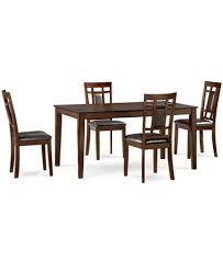 5 dining room sets delran 5 dining room furniture set created for macy s