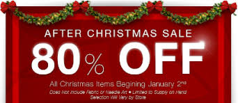 christmas clearance hobby lobby after christmas sale 80 coupon connections