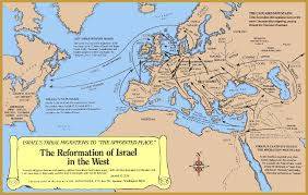 A New Map Of Jewish by Israelites