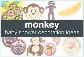 baby shower monkey monkey baby shower decorations shower that baby