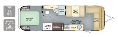auto use floor plan floorplans international signature airstream