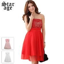 plus size romantic 3d rose tube top mesh party dresses short