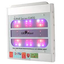 Full Spectrum Led Grow Lights Smart Led Grow Lights Osram 400w Full Spectrum Uv Ir Growant G400pro
