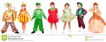 children in bright fancy dress stock photos image 22239633