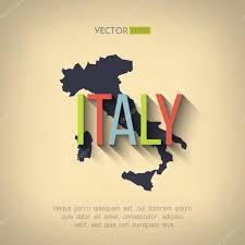 Italian Map Italy Map In Flat Design U2014 Stock Vector Mikaelmiro 72549155