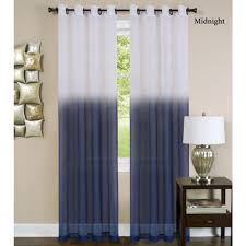 Ombre Sheer Curtains Essence Semi Sheer Ombre Grommet Curtain Panels