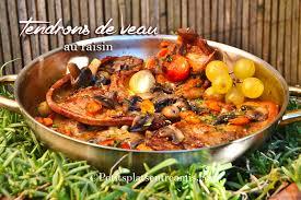 cuisiner le tendron de veau tendrons de veau au raisin la recette de petits plats entre amis