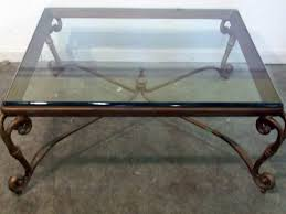 Home Decor Coffee Table Table Decorations Nice Square Glass Coffee Table Awesome Metal