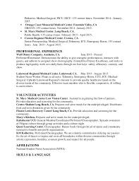 Sample Resume For Newly Graduated Student by Nursing Resume Sample Nursing Resume New Graduate Nurse Medical