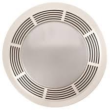 Broan Bathroom Fans Bathroom Broan Round 100 Cfm Exhaust Fan With Light Reviews